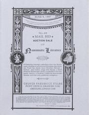 Mail Bid Auction Sale of Numismatic Literature: No. 69