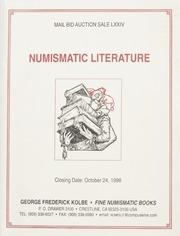 Numismatic Literature: Mail Bid Auction Sale Seventy Four
