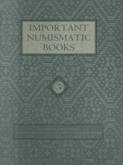 Important Numismatic Books: Auction Sale Seventy-Six