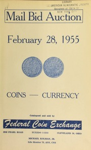 Mail bid auction. [02/28/1955]