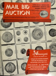 Mail bid auction : paper money medals and worldwide medieval modern coinage ... [06/30/1983]
