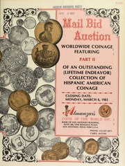 Mail bid auction : worldwide coinage ... [03/08/1982]