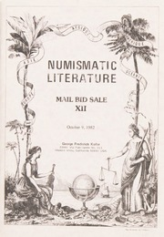 Numismatic Literature Mail Bid Sale XII