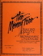 Mail bid sale #4 of numismatic literature, featuring the Craig Folkes library. [10/31/1988]