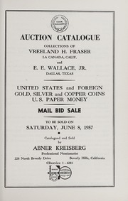 Mail Bid Sale: Collections of Vreeland H. Fraser and E.E. Wallace, Jr.