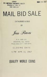 Mail bid sale : quality world coins. [04/11/1967]