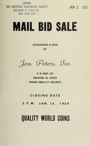 Mail bid sale : quality world coins. [01/14/1969]