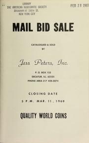 Mail bid sale : quality world coins. [03/11/1969]