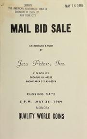 Mail bid sale : quality world coins. [05/26/1969]