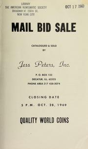 Mail bid sale : quality world coins. [10/28/1969]