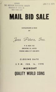 Mail bid sale : quality world coins. [02/16/1970]