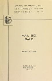 Mail bid sale : rare coins. [11/14/1944]