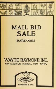 Mail bid sale : rare coins. [11/05/1946]