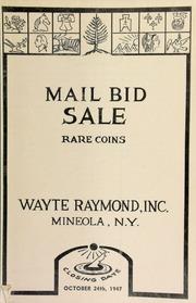 Mail bid sale : rare coins. [10/24/1947]