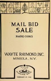 Mail bid sale : rare coins. [02/27/1948]