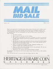 Mail Bid Sale: Spring 1988
