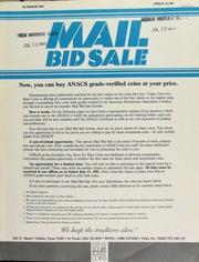 Mail bid sale ... Steve Ivy Rare Coins. [07/17/1981]