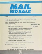 Mail bid sale ... Steve Ivy Rare Coins. [09/11/1981]