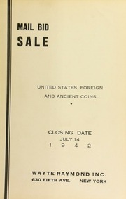 Mail bid sale : United States, foreign and ancient coins. [07/14/1942]