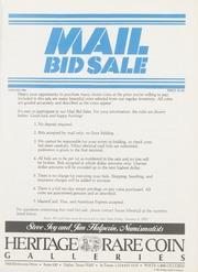 Mail Bid Sale: Winter 1984