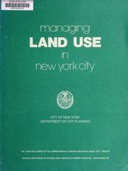 Managing land use in New Yo...