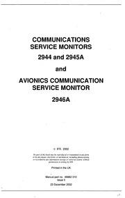 Marconi 2945a service