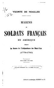 Marins et soldats français en Amérique pendant la guerre de l-indépendance des États-Unis (1778-1783)