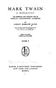 samuel langhorne clemens biography essay Hanibal, the clemens family members - biography of samuel langhorne clemens also known as tag twain.