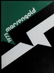 Cover of The Marsengold yearbook, 1973