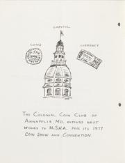 The Maryland Numismatist: 1977