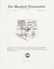 The Maryland Numismatist: 1978