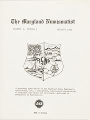 The Maryland Numismatist: 1979