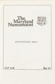 The Maryland Numismatist: 1980