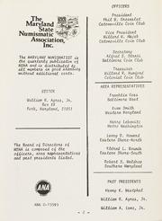 The Maryland Numismatist: 1981