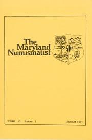 The Maryland Numismatist: 1983