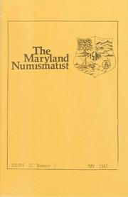 The Maryland Numismatist: 1987