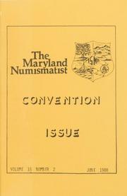 The Maryland Numismatist: 1988