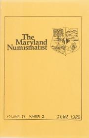 The Maryland Numismatist: 1989