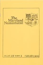 The Maryland Numismatist: 1991