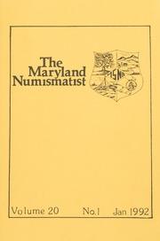 The Maryland Numismatist: 1992