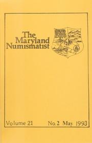 The Maryland Numismatist: 1993