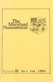 The Maryland Numismatist: 1994