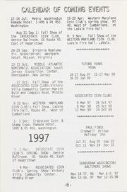 The Maryland Numismatist: 1996