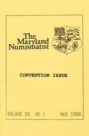 The Maryland Numismatist: 1998