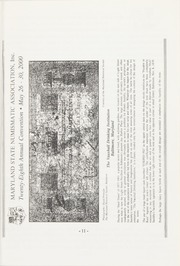 The Maryland Numismatist: 2000