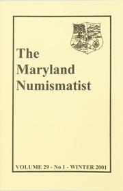 The Maryland Numismatist: 2001