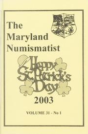 The Maryland Numismatist: 2003