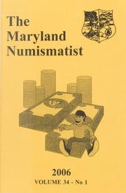 The Maryland Numismatist: 2006