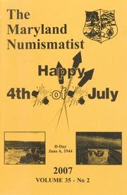 The Maryland Numismatist: 2007