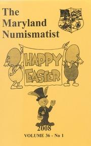 The Maryland Numismatist: 2008